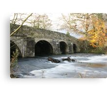 Lady Bower Bridge Canvas Print