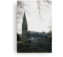 Lady Bower Church Canvas Print