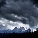 Storm,Kootenay Crossing by George Cousins