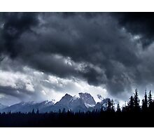 Storm,Kootenay Crossing Photographic Print