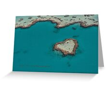 Heart Reef © Vicki Ferrari Greeting Card