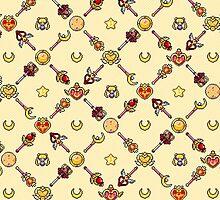 Sailor Moon Diagonal - Yellow by uenki