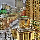 King's Chapel, Boston MA by LudaNayvelt