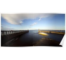 Whitby - Harbour Entrance Poster