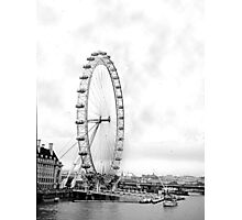 London Viewing Wheel 2000. New Angle. Photographic Print