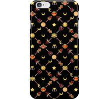 Sailor Moon Diagonal - Black iPhone Case/Skin