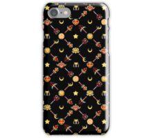 Sailor Moon Diagonal - Black iPhone Case/Skin