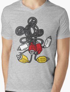 AV Mouse Mens V-Neck T-Shirt