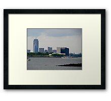View of Boston II Framed Print