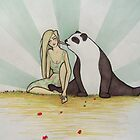 Panda Buddy by Lily Coose
