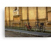 Florence Bicycles Canvas Print