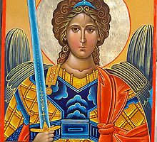 Archangel Michael by Alla Melnichenko