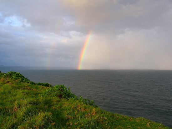 Spring Shower off Lennox Point by Bree Lucas