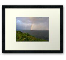 Spring Shower off Lennox Point Framed Print