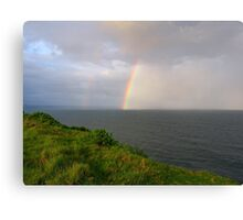 Spring Shower off Lennox Point Canvas Print