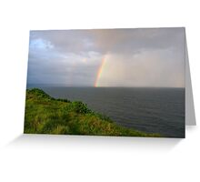 Spring Shower off Lennox Point Greeting Card