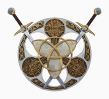 Celtic Shield and Swords Kids Clothes