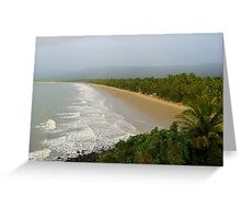 Four Mile Beach - Port Douglas Greeting Card
