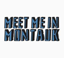 Meet Me In Montauk - Blue by InsomniACK