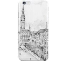 Gdansk panorama iPhone Case/Skin
