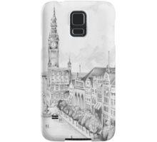 Gdansk panorama Samsung Galaxy Case/Skin