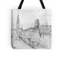Gdansk panorama Tote Bag