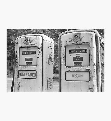 Gas Pumps 2 Photographic Print