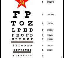 Campaign Memories: Sarah Palin's Eye Chart by Alex Preiss