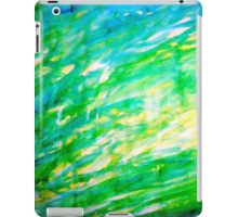 Random brush strokes iPad Case/Skin