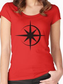 Mark of the Star Brand Women's Fitted Scoop T-Shirt