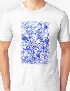 Grotesque Animal Scroll T-Shirt