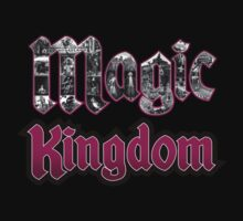 Attractions of Magic Kingdom One Piece - Short Sleeve