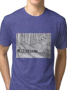 Lemur katta Tri-blend T-Shirt