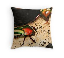Time For Our Morning Snack Throw Pillow