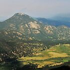 Valley in Rocky Mountain National Park by Susan Russell