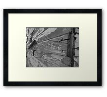 Granery abstract Framed Print