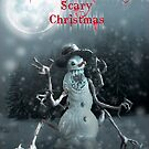 Wishing you a Merry Scary Christmas by Adara Rosalie
