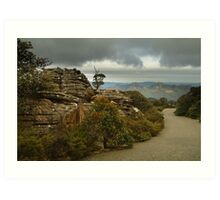Mt William Grampians  Art Print