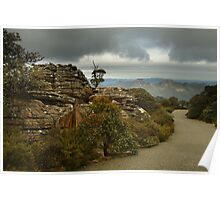 Mt William Grampians  Poster
