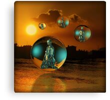 Crystal Children of the Sun Canvas Print