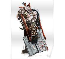 Dwarven Barbarian Poster