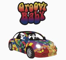 Groovy Baby Austin Powers  Kids Clothes