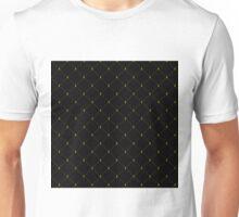 Aberdeen - Black and Gold Pattern Unisex T-Shirt