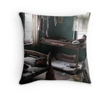 A PLACE TO SLEEP Throw Pillow