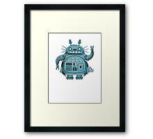 Robot Totoro Framed Print