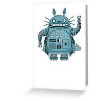 Robot Totoro Greeting Card