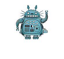 Robot Totoro Photographic Print