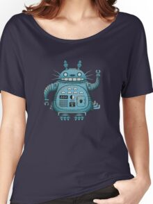 Robot Totoro Women's Relaxed Fit T-Shirt