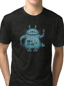 Robot Totoro Tri-blend T-Shirt