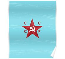CCCP Star Poster